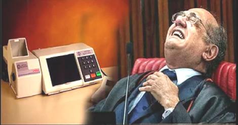 """A """"farra"""" da urna eletrônica patrocinada por Gilmar Mendes"""