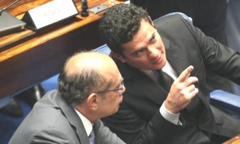 Moro peita Gilmar e determina a transferência de Cabral para Curitiba