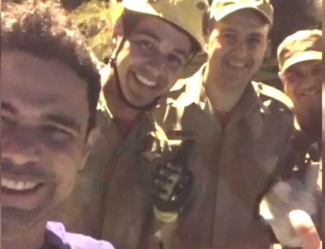 Bombeiros socorrem e salvam Zezé Di Camargo (Veja o Vídeo)