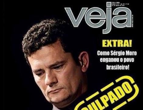 """Central de calúnias petista faz nova capa fake de """"Veja"""""""