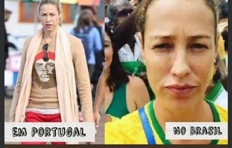 A dupla personalidade de Luana Piovani