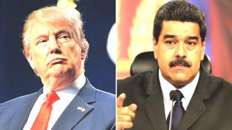 Você nunca verá na TV: Enquanto o Brasil segue acovardado, Trump manda duro recado para Maduro (Veja o Vídeo)