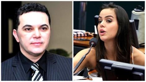 Deputado valentão de Roraima ameaça a musa do impeachment