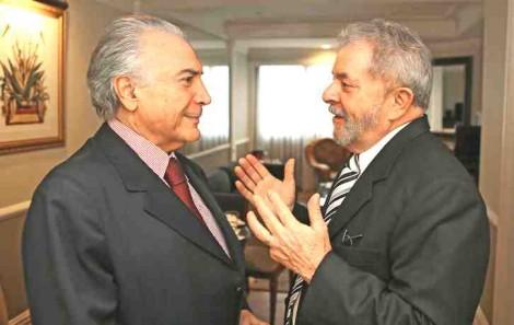 Golpe no golpe: Lula e Temer planejam nova aliança