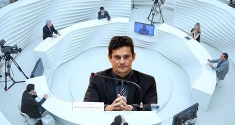 A intervenção sofrível do jornalista da Folha, que Moro transformou em algo interessante (Veja o Vídeo)