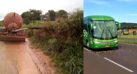 VÍDEO: Paranaenses de Medianeira preparam caminhão de ESTERCO para lançar em Lula