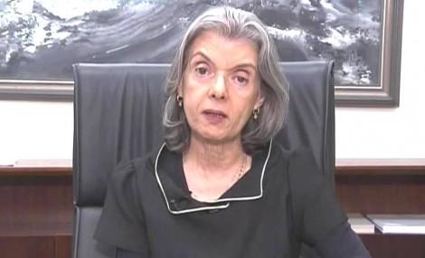 A fala de Cármen Lúcia é intrigante e preocupante (Veja o Vídeo)