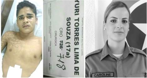 Suspeito de participação em assassinato da policial Caroline morre em confronto com a polícia no RN