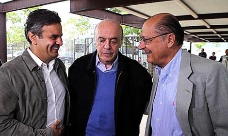 Aécio, Alckmin e Serra, juntos, unidos, na delação da Andrade Gutierrez