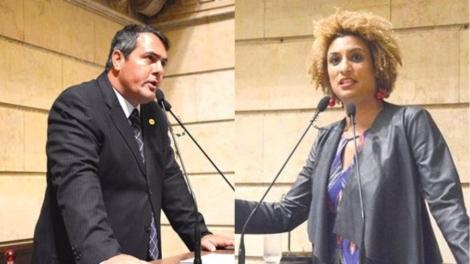 Humilhação imposta por Marielle na tribuna pode ter despertado a ira de Sicilliano (Veja o Vídeo)