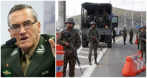 General Villas Bôas determinou uso imediato de todo efetivo da força para desobstrução das vias