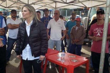 Governadora diz que no Paraná a Força Nacional não entra (Veja o Vídeo)