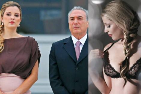 Irmã de Marcela, aquela que desistiu de posar nua para a Playboy, tripudia sobre greve dos Caminhoneiros