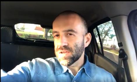 Homem grava vídeo com ofensas a caminhoneiros, causa revolta e será processado (Veja o Vídeo)