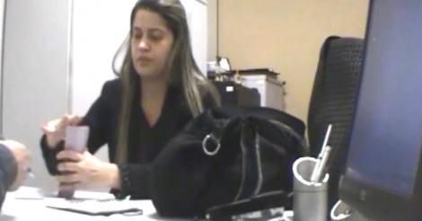 Flagrante de propina de consultora do Ministério da Saúde resulta em condenação (Veja o Vídeo)