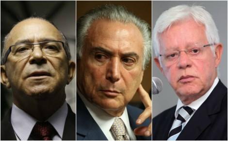 Fim de linha: PF pede ao STF a quebra de sigilo telefônico de Temer, Padilha e Moreira