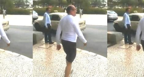 """Mais um brasileiro indignado escorraça Gilmar em Lisboa: """"Muito obrigado por F**** nosso país!"""" (veja o vídeo)"""