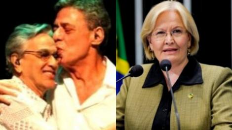 Ana Amélia entra em confronto direto contra Chico e Caetano