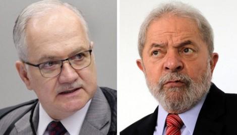 """Lula sobre Fachin: """"É um canalha. Um mau-caráter"""""""