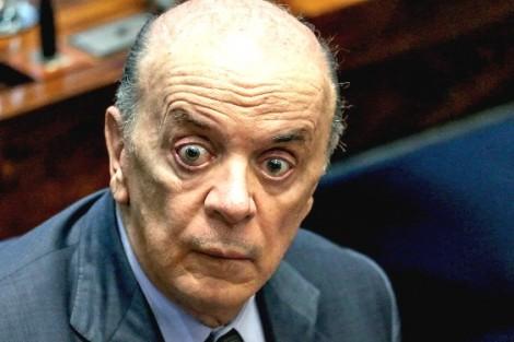 Quando cai a máscara do tucano José Serra