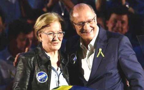 """Alckmin """"gagá"""" troca nome da vice"""