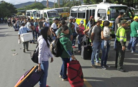 A invasão venezuelana