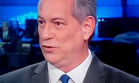 """O imperdoável """"ato falho"""" de Ciro Gomes no Jornal Nacional (Veja o Vídeo)"""
