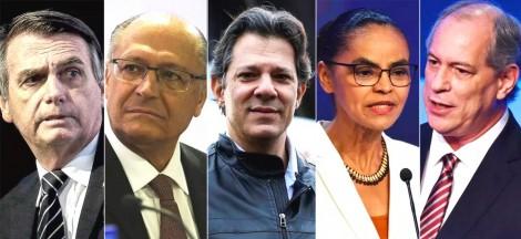 Pesquisa científica identifica a real rejeição dos candidatos a presidente