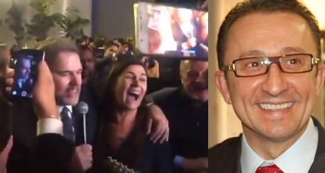 """Festa de posse de Toffoli teve o """"amigo"""" Favreto, o magistrado que tentou soltar Lula (Veja o Vídeo)"""