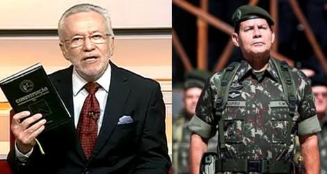 Alexandre Garcia, sempre ponderado, sai em defesa de Mourão