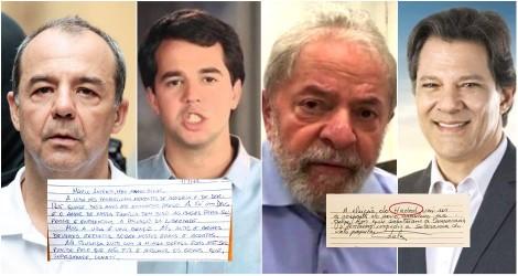 Virou moda presidiário mandar carta para herdeiro político