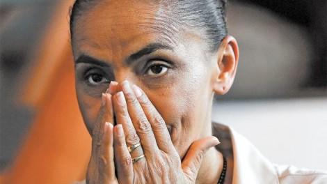 Desolada e em queda livre, Marina perde a linha e aciona Bolsonaro por ataque hacker