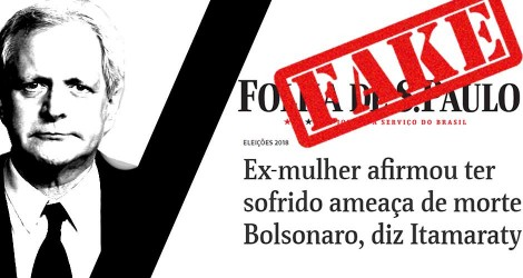 """Jornalista renomado acusa Folha de """"Fake News"""" e diz que matéria é """"criminosa"""" (Veja o Vídeo)"""