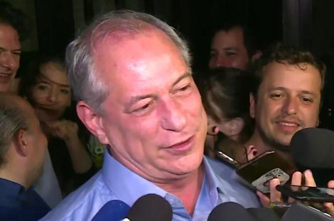 Em entrevista, Ciro deixa claro o risco que representa a eleição do poste (Veja o Vídeo)