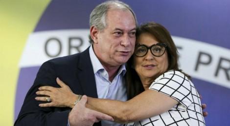 Kátia Abreu, a vice de Ciro, antecipa o resultado do 2º turno