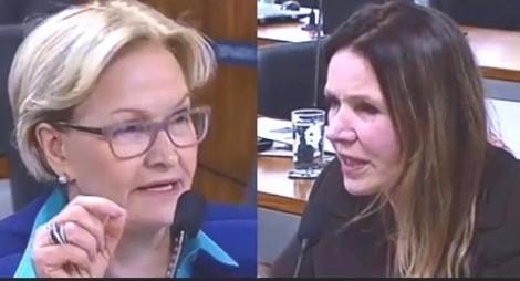 Ana Amélia retorna ao senado e destrói argumentação mentirosa de Grazziotin (Veja o Vídeo)