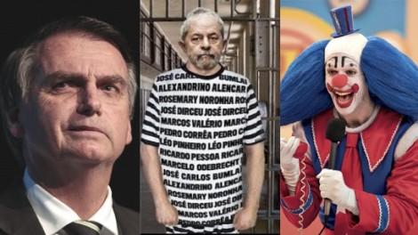 """Bolsonaro e """"Bozonaro"""". E o palhaço quem é?"""