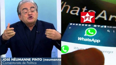 """Néumanne opina sobre o golpe do PT: """"Nojento, vagabundo, repugnante"""" (Veja o Vídeo)"""