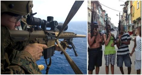 Fim da lenga lenga: governador do RJ quer abater criminosos com snipers e helicópteros (veja o vídeo)
