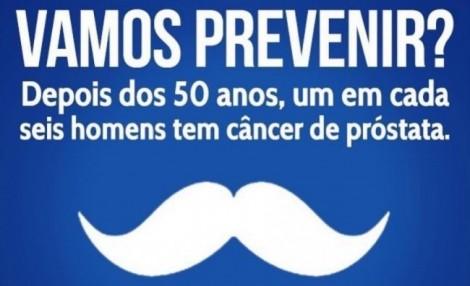 Novembro Azul - Câncer de Próstata - quebrando o tabu