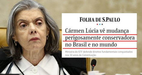 O que é democracia mesmo, ministra Cármen Lúcia?
