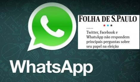 """Em busca da total desmoralização, Folha volta a atacar ainda sobre o assunto """"WhatsApp"""""""