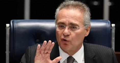Mídia tenta inflar na marra nome de Renan para a presidência do Senado