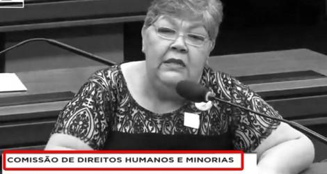 Na comissão de Direitos Humanos, petista extravasa e revela o ódio (Veja o Vídeo)