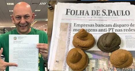 Luciano Hang desmoraliza Folha e relembra maior Fake News da corrida eleitoral