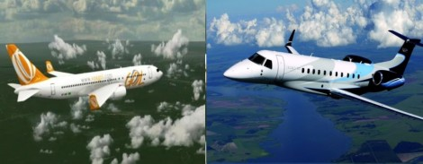 O assustador flagrante de um (quase) choque de duas aeronaves em Pleno ar de SC (Veja a Imagem)