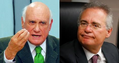 """Lasier desmoraliza Renan: """"Seu tempo acabou"""" (Veja o Vídeo)"""
