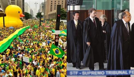 Um cabo, um soldado e milhões de brasileiros contra o STF