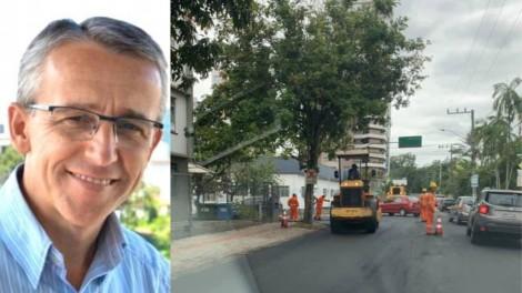 Blumenau: a incompetência de um prefeito amador...