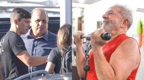 Pezão, que ainda é governador, tem tratamento de presidiário. E Lula?